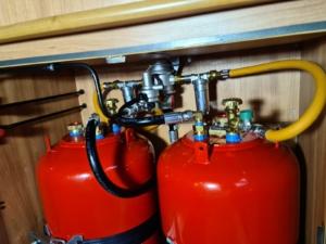 Umbau Gasanlage